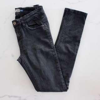 Pull & Bear High Rise Skinny Denim Jeans