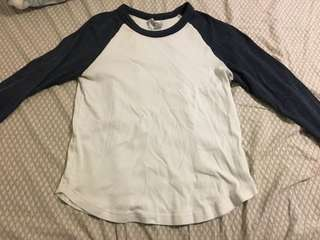 Baseball tee from h&m