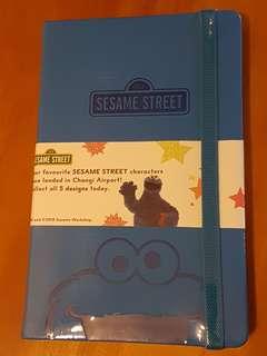 Sesame Street Cookie Monster notebook