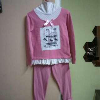 Girl Sleepsuit Set