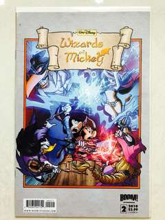 Walt Disney's Wizards of Mickey comic Issue#2 Cover A