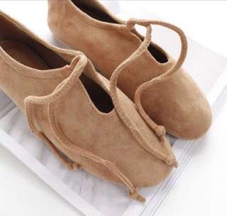Brown lace shoes