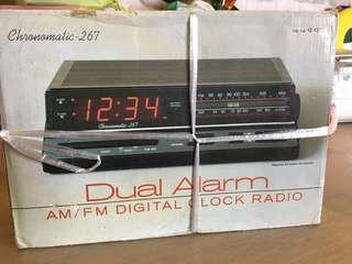 Dual Alarm Digital Clock Radio