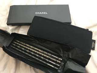 Chanel pencils with bag