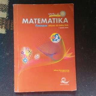 Matematika Peminatan kelas xii
