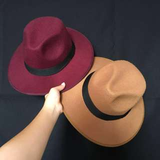 Fedora in Wine/ Camel