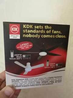 Rechargeable handy fan