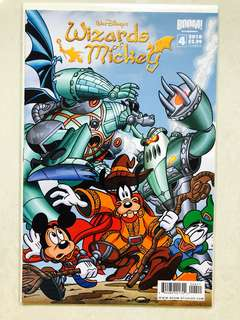 Walt Disney's Wizards of Mickey comic Issue#4 Cover B