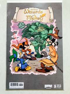 Walt Disney's Wizards of Mickey comic Issue#5 Cover A