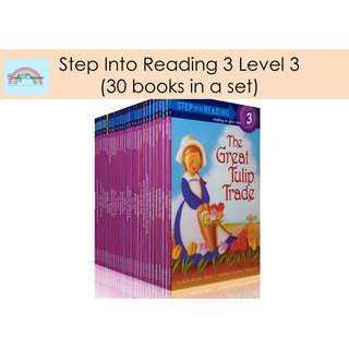 Step Into Reading Level 3 Children Book Set★Early Education★Guided Reading [FREE DELIVERY]