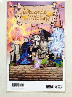 Walt Disney's Wizards of Mickey comic Issue#6 Cover A