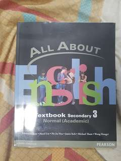 All About English Textbook Secondary 3 Normal Academic