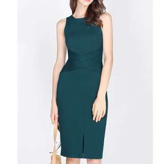 Fayth Justine Midi Dress