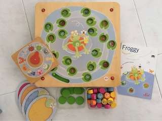 Sevi Foggy Wooden Memory Game