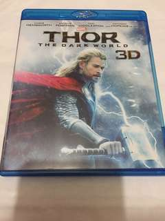 雷神奇俠2: 黑暗世界 Thor: The Dark World 3D Blu-ray