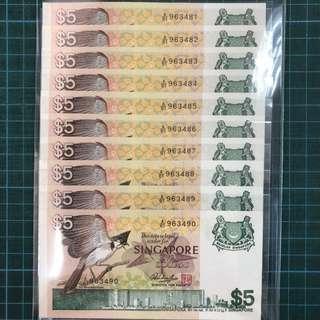 10 Run Bird $5