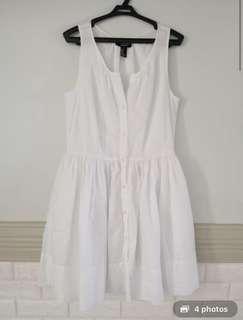 Forever 21 Classy White Dress