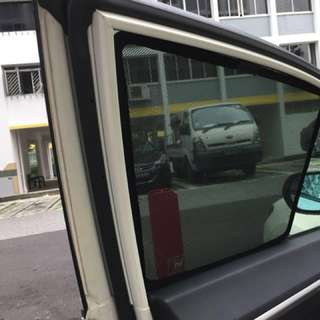 $38-4 pieces Promo Magnet Carshades selected Car Models
