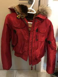 Red parajumper size medium kids (fits xs/s women's)