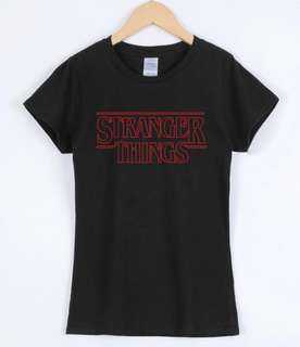 PO stranger things tshirt