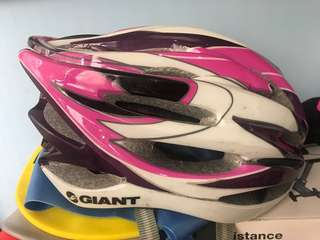 捷安特 自行車/公路車 安全帽 二手內襯可拆洗