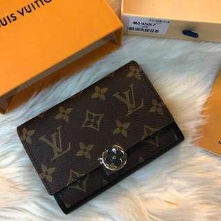 LV Flore Compact Wallet