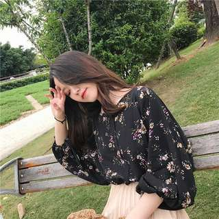 🆕 READY STOCK FLORAL BLOUSE
