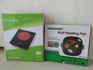 Sugawa Smart Cooker & Roasting Pan Set