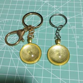 DIY Cabochon Pendant/Keychain Material Sets