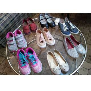 Assorted Pre-loved girl shoes