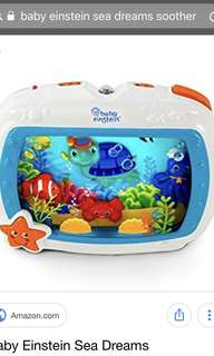 Baby Einstein sea dreams soother Fish tank