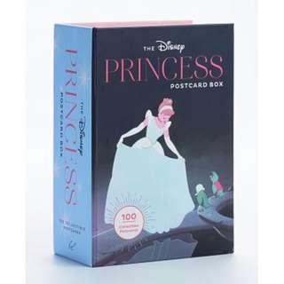 🚚 迪士尼 Disney / 100張明信片精緻禮盒硬殼書 / D262 / 卡片 灰姑娘 仙履奇緣 小美人魚 勇敢傳說