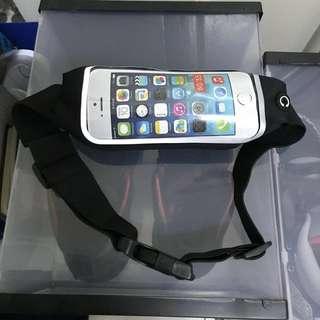 Waist Belt Bag Sport Fitness Running Jogging Adjustable Waist Bag Phone Case