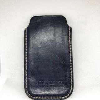 Leather Case iPhone 6 / 6s Biru