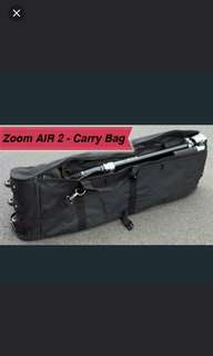 Foldable bag w 3 skate wheels for etwow, Zoom Air 2 speedway 3 or 4 mini escooters
