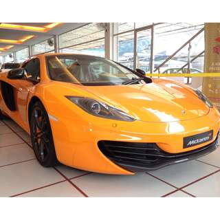 MCLAREN MP4-12C 3.8 SPIDER HARD CONVERTIBLE MERIDIAN DSP AUDIO (A) OFFER UNREG 2013