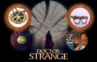 Dr strange eye of the agamotto