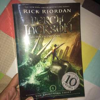 Percy Jackson and the Olympians : The Lightning Thief