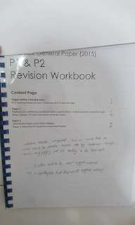 JC2 GENERAL PAPER Revision workbook/notes