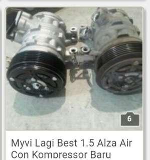 Myvi lagi best 1.5 Alza air con kompressor baru