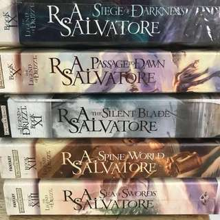 R.A Salvatore Forgotten Realms Series The Legend of Drizzt