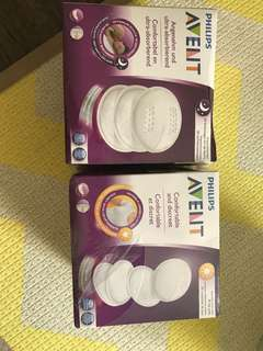 Avent nursing pad day and night