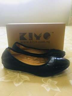 Kiyo Black Shoes