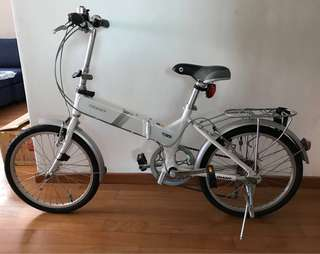 Foldable Exercise Bicycle Priced to Sell