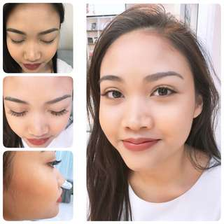 2D eye lash extensions