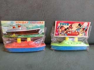 港製玩具船 全部$180