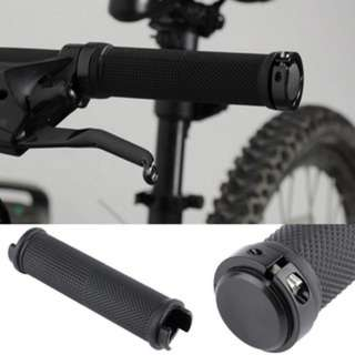 [PO428]1 Pair Bike Cycling Bicycle Tube Type Anti-slip Rubber Handlebar