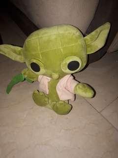 Yoda stuffed toy