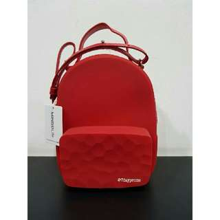 Tas Miniso Jelly Red