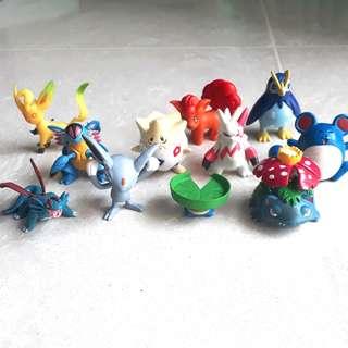 Pokemon Figurines Tomy moncolle set